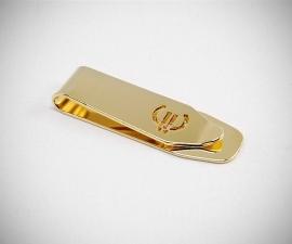 Fermasoldi dorati LeCuff, Fermasoldi oro trapezio dorato Euro LeCuff