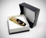 Fermasoldi oro trapezio dorato Euro LeCuff