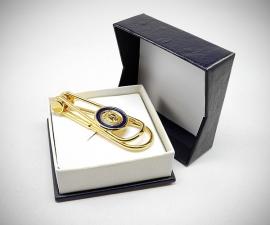 Fermasoldi - LeCuff Fermasoldi oro clip medaglia LeCuff