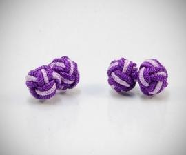 gemelli nodini di stoffa LeCuff, Gemelli in stoffa per camicia nodo in seta tessuto LeCuff