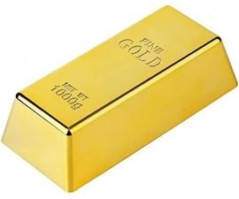 Gemelli personalizzati LeCuff, Doratura in bagno d'oro 24 Kt