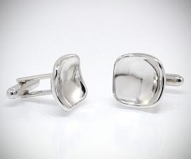 gemelli per polsini LeCuff, Gemelli per camicia rivoltati concavi da polso