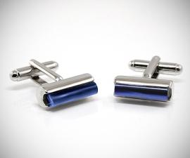 Gemelli con colori personalizzabili LeCuff, Gemelli da polso per camicia cilindro e pietra