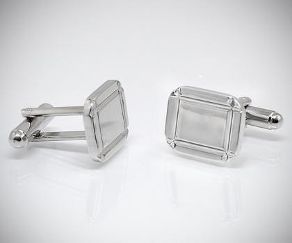Gemelli per camicia diamantati 4 righe