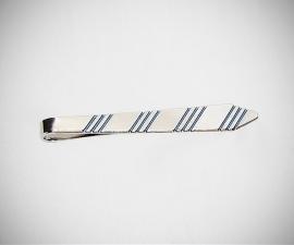 Fermacravatta a cravatta LeCuff, Fermacravatta in acciaio