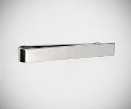 Fermacravatta in acciaio LeCuff, Fermacravatta liscio LeCuff