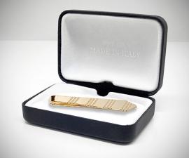 Fermacravatta dorati - LeCuff Fermacravatta oro a cravatta LeCuff