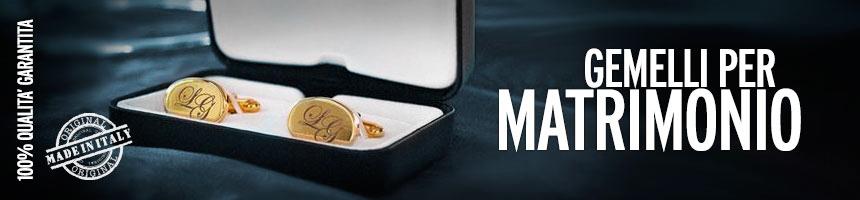Gemelli personalizzati matrimoni
